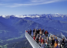 Skywalk, die Aussichtsplattform am Dachstein in Ramsau